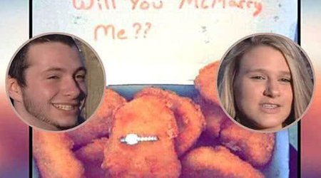 McMatch Made in Heaven: Man Pops the Question With Ring Hidden in Box of Chicken McNuggets